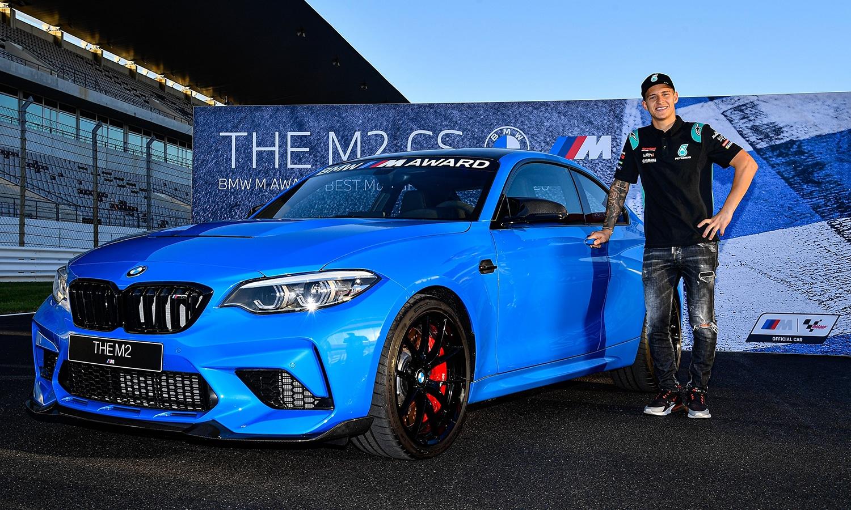 Fabio Quartararo BMW M2 CS motogp 2020