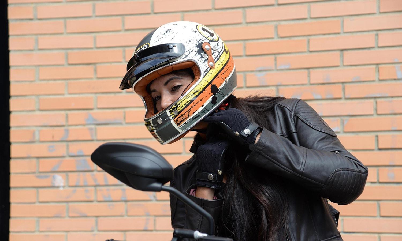 Motorista casco