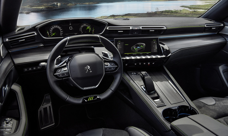 Peugeot 508 Sport Engineered interior