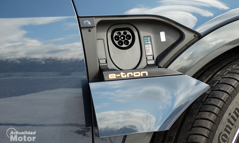 Enchufe Audi eléctrico