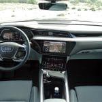 Prueba Audi e-tron Sportback interior