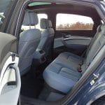 Plazas traseras Audi e-tron Sportback