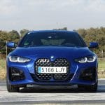 Prueba BMW Serie 4 frontal