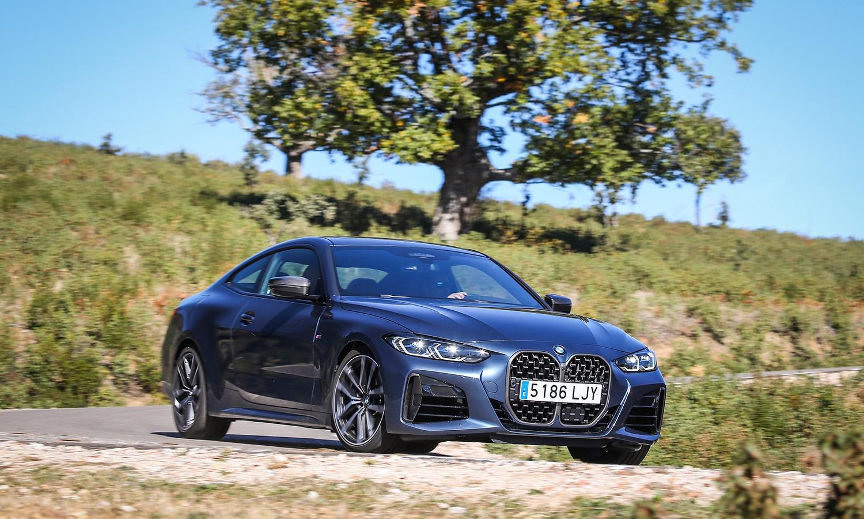 Prueba BMW Serie 4 Coupé dinámica