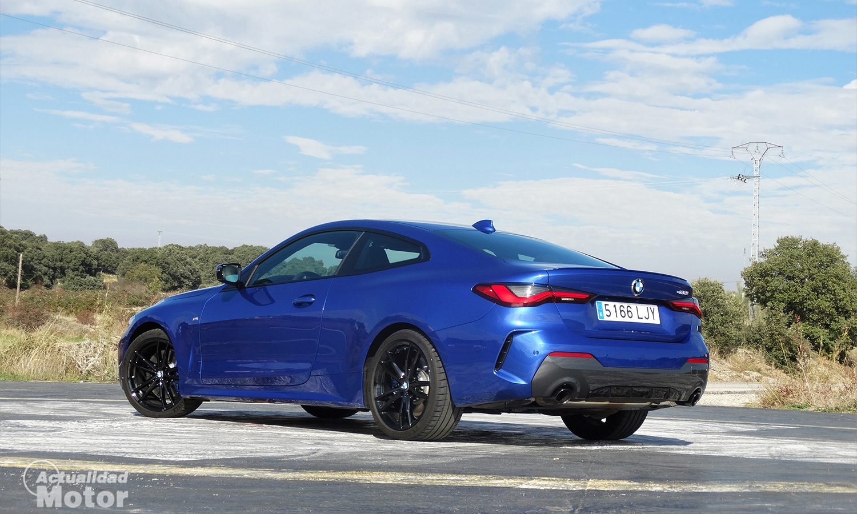 Prueba BMW 430i Coupé trasera