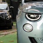 Prueba Fiat 500 eléctrico luces