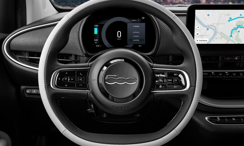 Fiat 500e pantalla