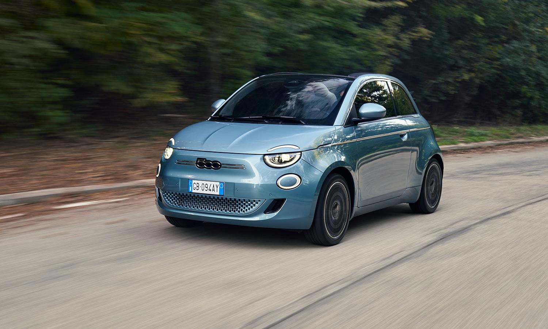 Fiat 500e prueba