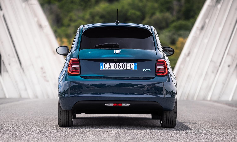 Prueba Fiat 500 eléctrico trasera