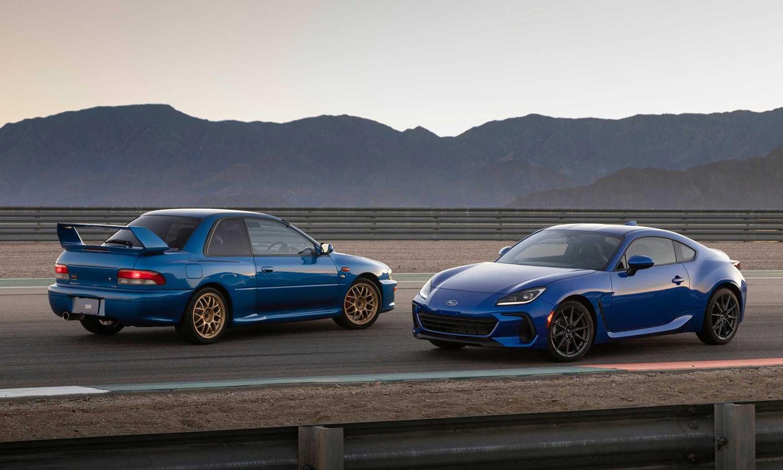 Subaru BRZ y Subaru Impreza