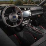 Subaru BRZ diseño interior