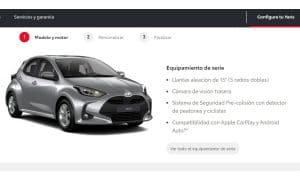 Toyota Yaris gasolina