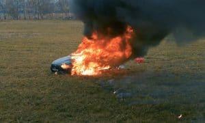Youtuber quema su Mercedes AMG GT 63 S