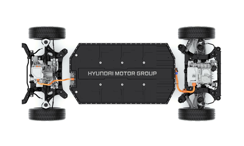Hyundai - Kia electric platform E-GMP