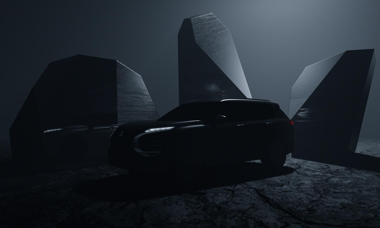 Mitsubishi Outlander 2021 teaser