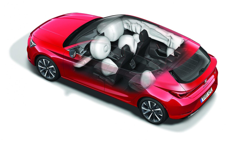 Airbag central de serie Seat León