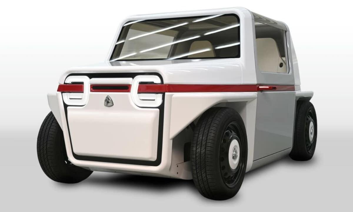 Azapa-FDS Un mini coche de hidrógeno japones para acabar con los atascos