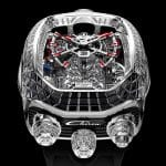 Jacob & Co. Chiron Tourbillon plateado y negro