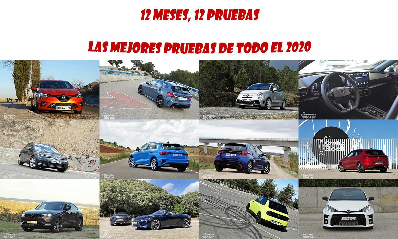 Mejores pruebas coches 2020