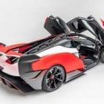 Puertas abiertas del McLaren Sabre