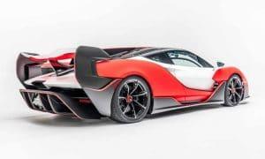 Difusor y alerón del McLaren Sabre