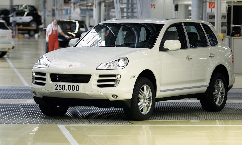 Porsche Cayenne unidad 250.000