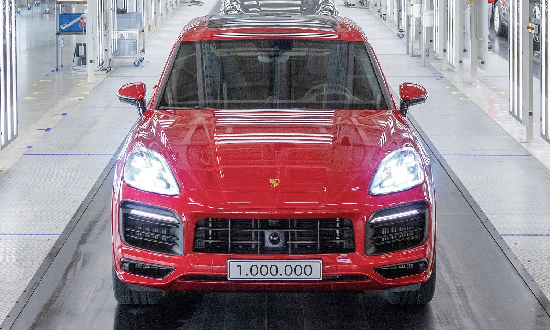 Porsche Cayenne unidad 1 millón