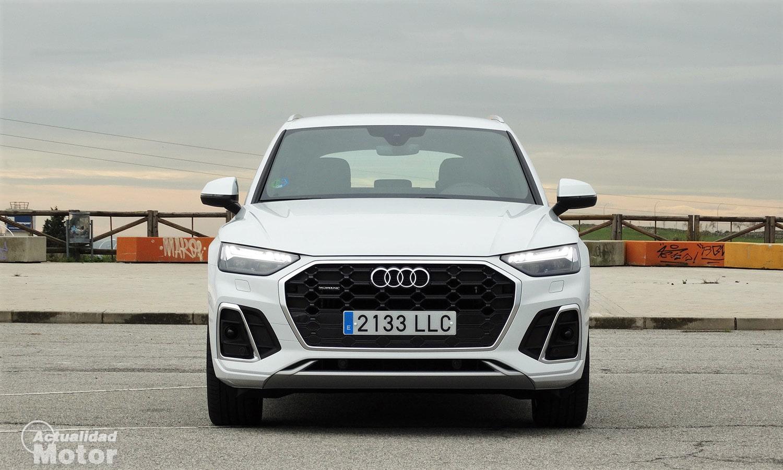 Prueba Audi Q5 s line frontal