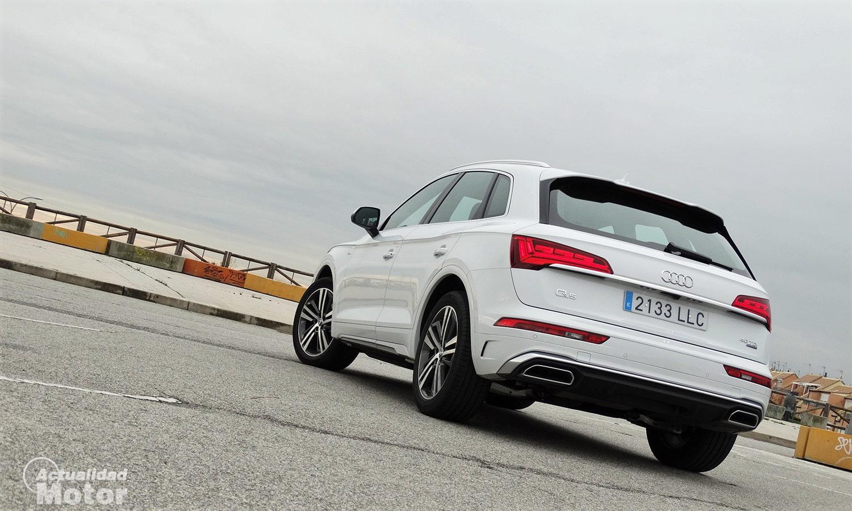 Prueba Audi Q5 perfil trasero