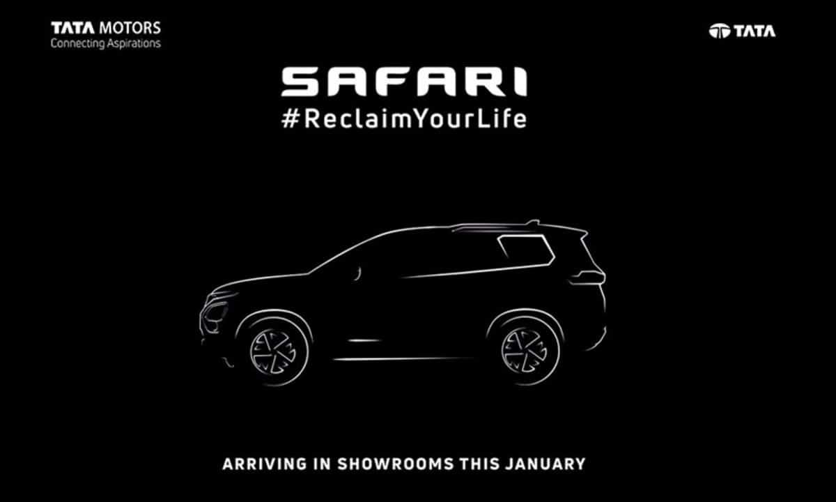 Tata Safari teaser