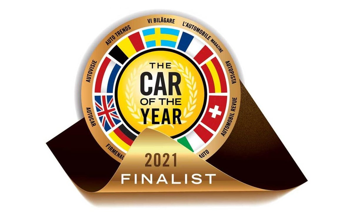 The Car of the Year (COTY) 2021 shortlist finalist