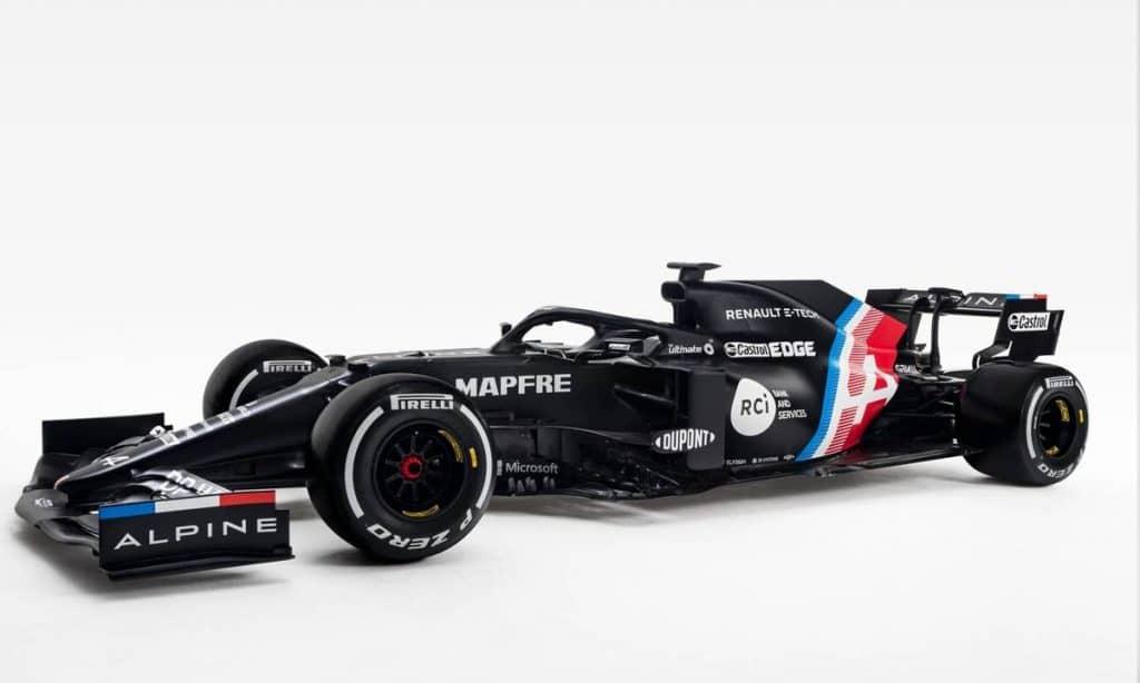 Alpine A521 Fernando Alonso F1 2021
