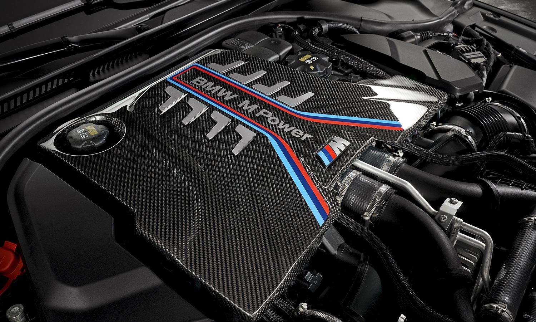 BMW M5 CS motor V8 4.4