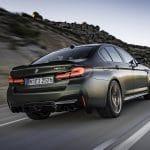 BMW M5 CS trasera