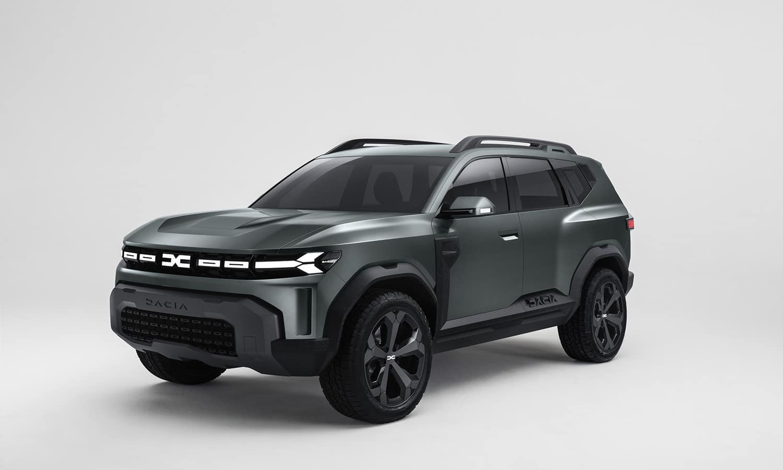 Dacia Bister Concept perfil
