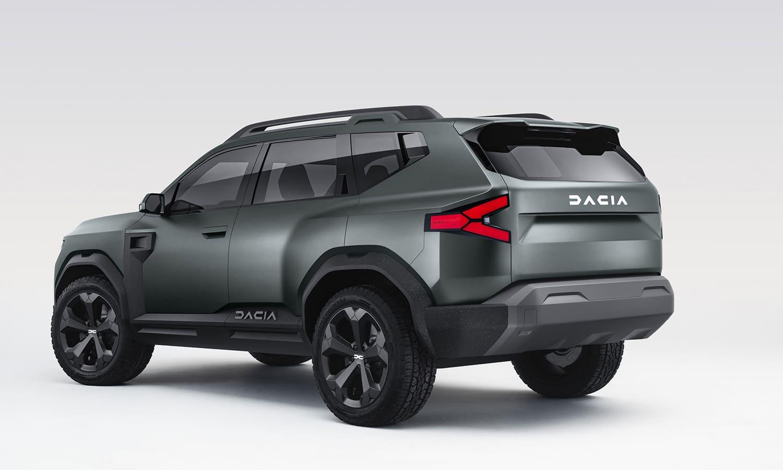 Dacia Bister Concept perfil trasero
