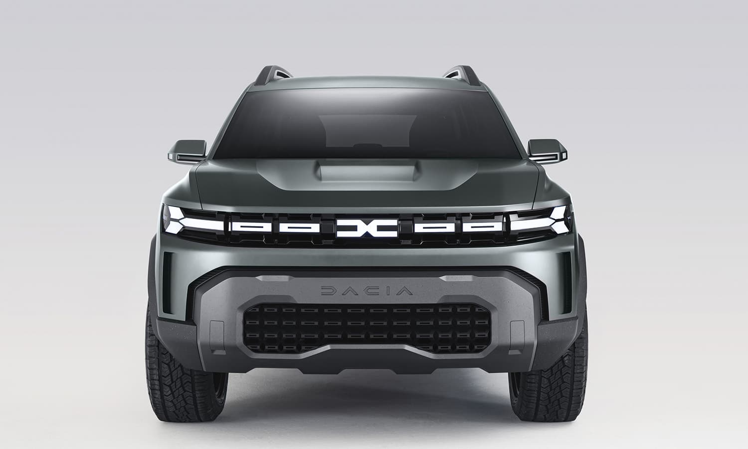 Frontal Dacia Bister Concept
