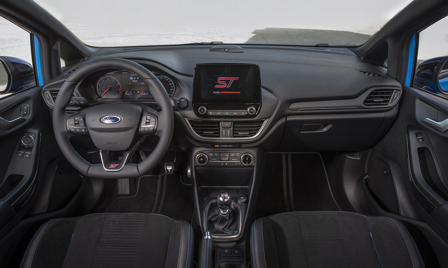 Ford Fiesta ST Edition interior