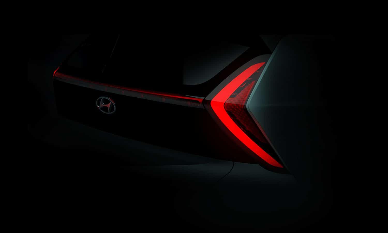Hyundai Bayon teaser trasera