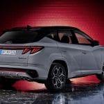 Hyundai Tucson N Line perfil trasero
