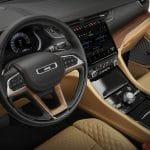 Interior Jeep Grand Cherokee L