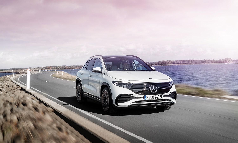 Mercedes EQA dinámica