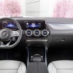 Mercedes EQA eléctrico interior