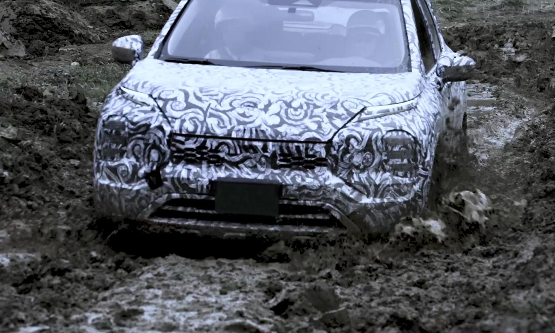 Mitsubishi Outlander teaser barro