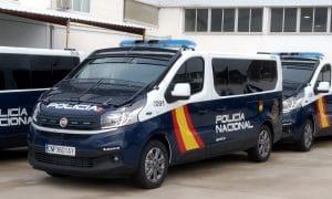 Fiat Talento Policía Nacional