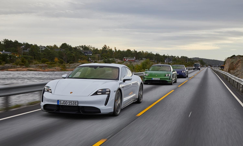 Porsche Taycan contribuye a la venta de coches eléctricos del Grupo Volkswagen
