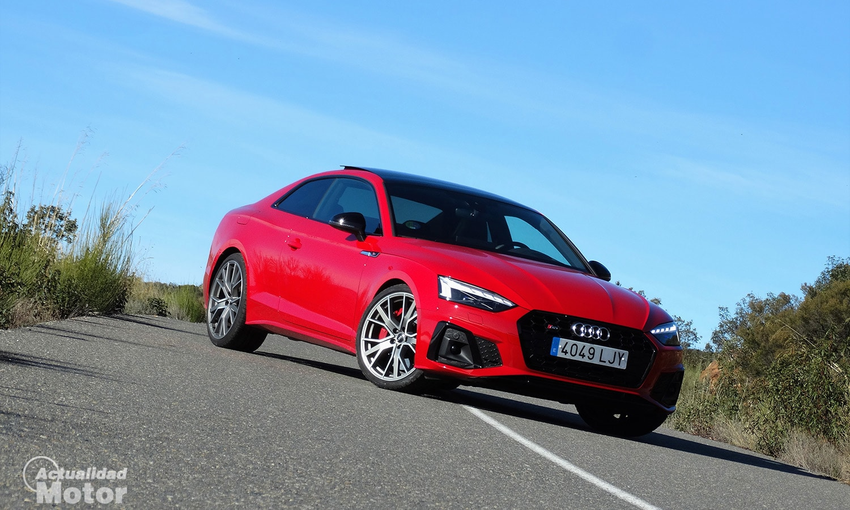 Prueba Audi S5 TDI perfil delantero