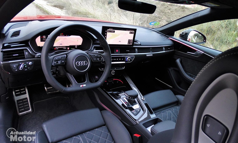 Prueba Audi S5 Coupé interior