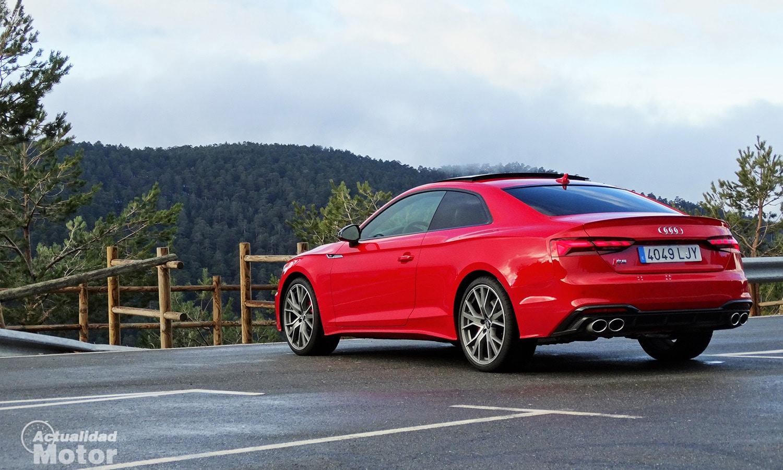 Prueba Audi S5 Coupé TDI perfil trasero