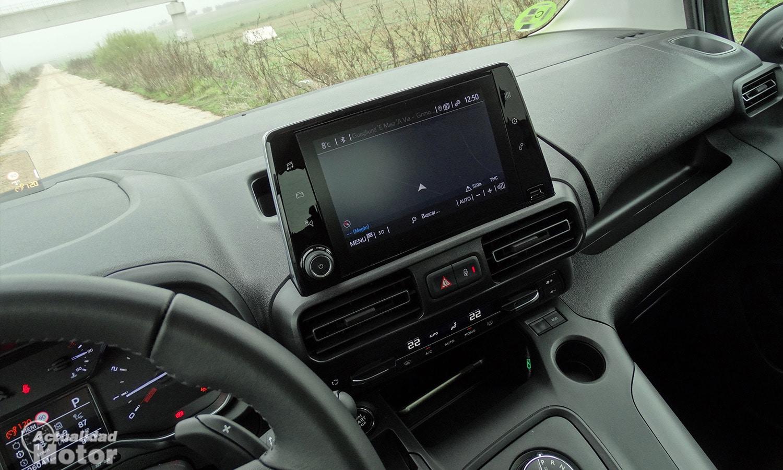 Pantalla 8 pulgadas navegador Toyota Proace City